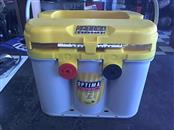 OPTIMA Battery/Charger YELLOWTOP D31